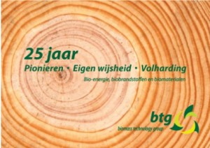 25 jaar BTG Biomass Technology Group
